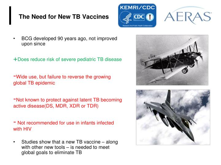 The Need for New TB Vaccines