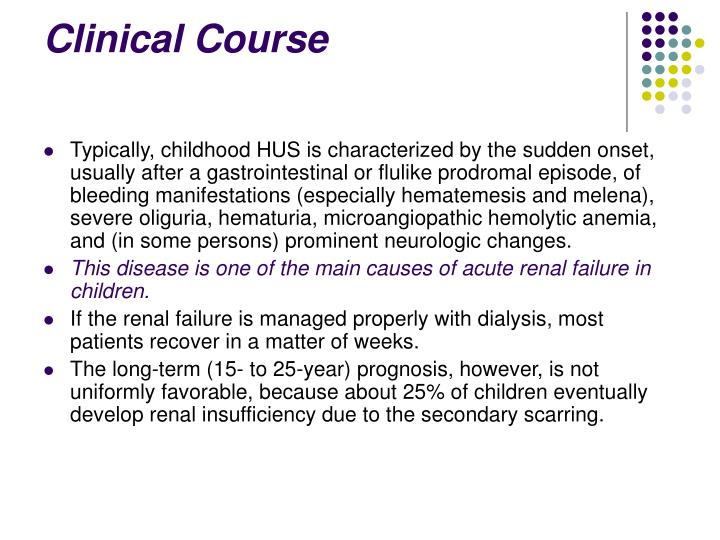 Clinical Course