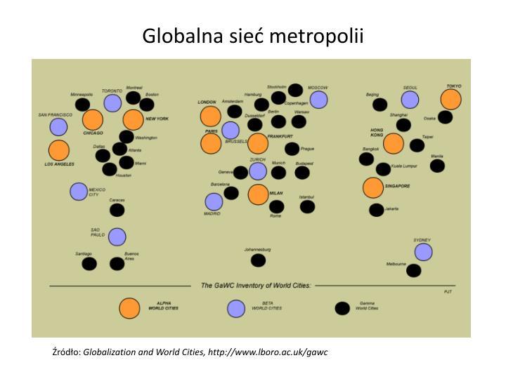 Globalna sieć metropolii