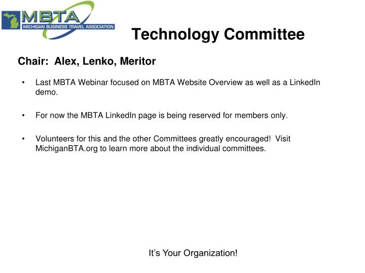 Technology Committee