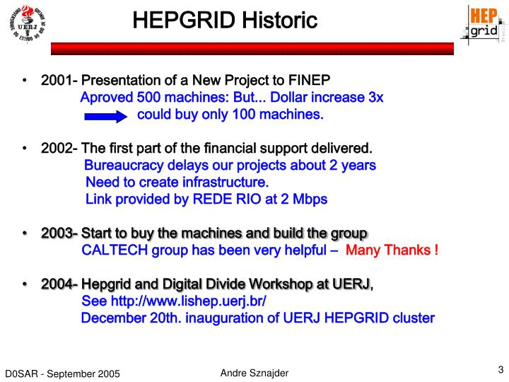 Hepgrid historic