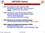 hepgrid historic