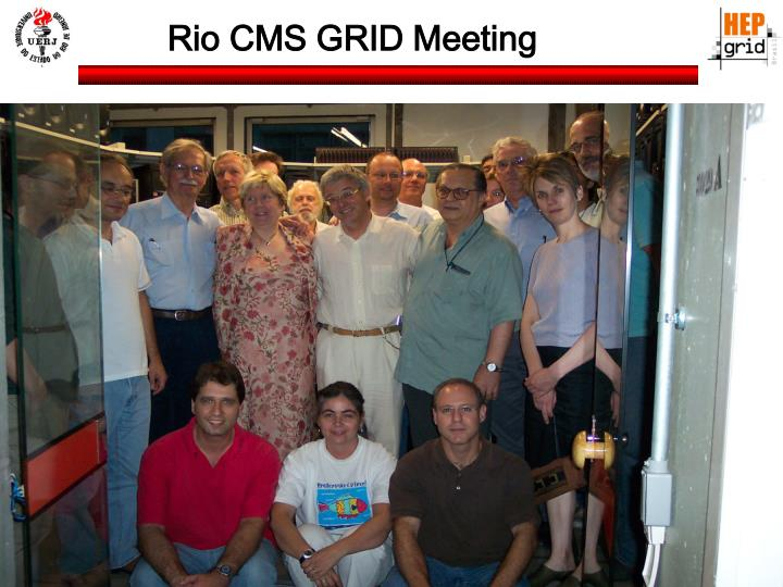 Rio CMS GRID Meeting