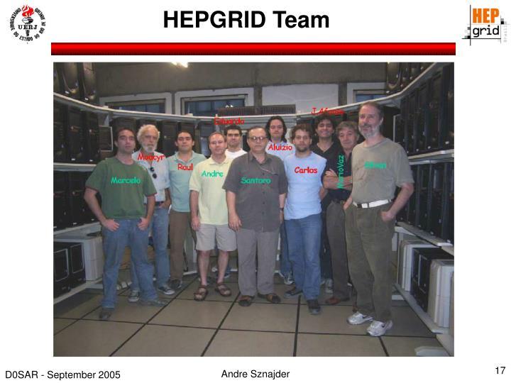 HEPGRID Team