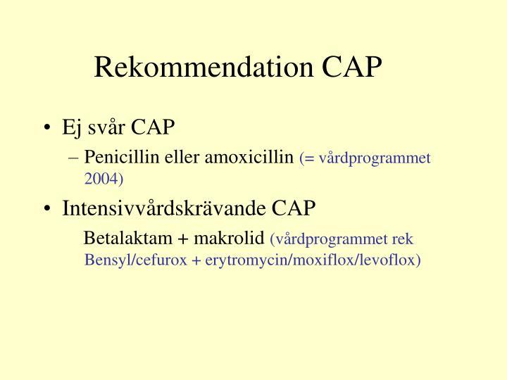 Rekommendation CAP