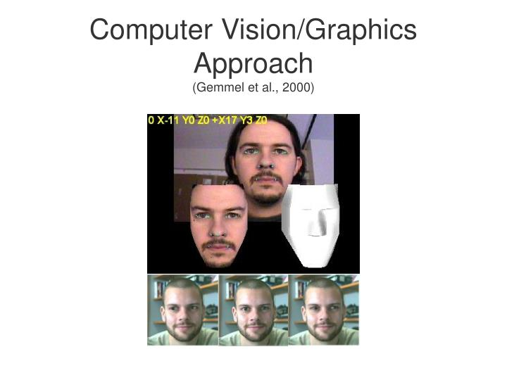 Computer Vision/Graphics Approach