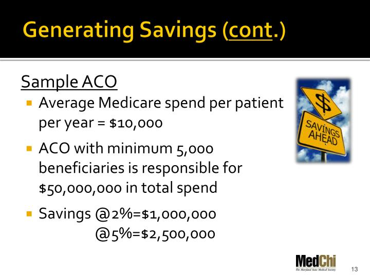 Generating Savings (