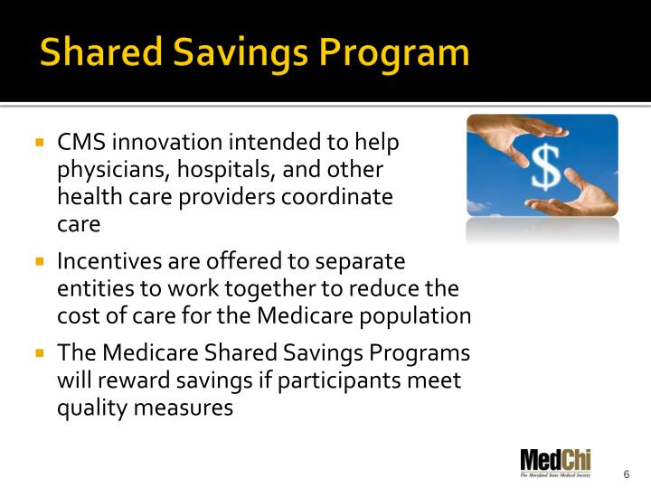 Shared Savings Program