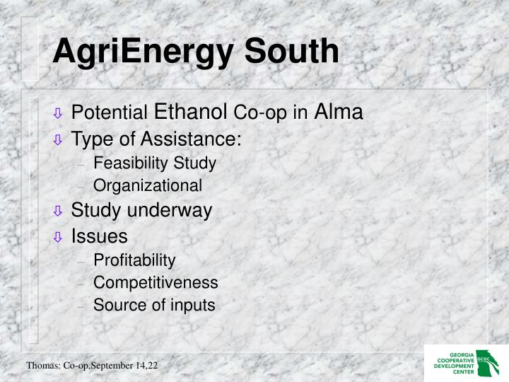 AgriEnergy South