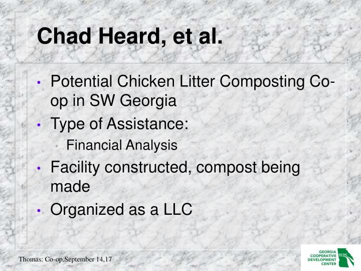 Chad Heard, et al.