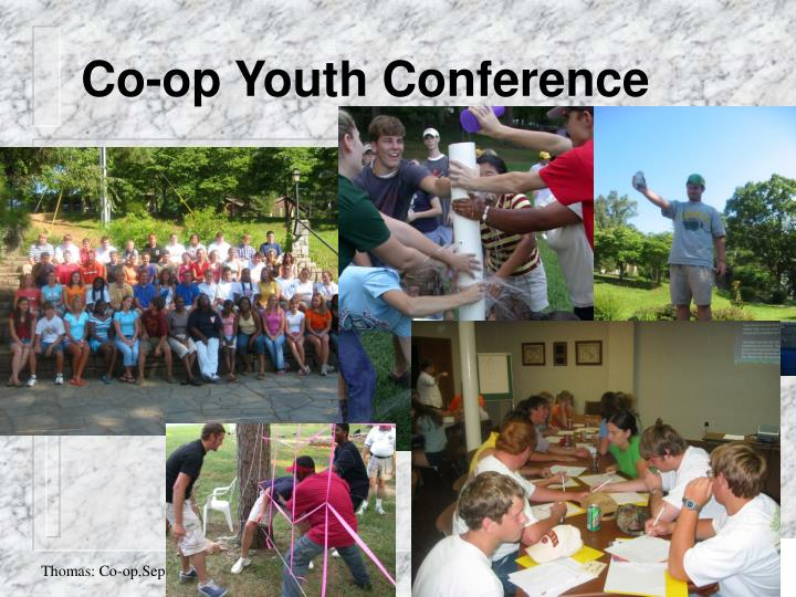 Co-op Youth Conference