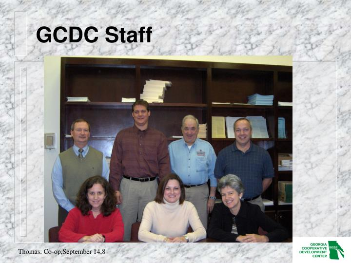 GCDC Staff