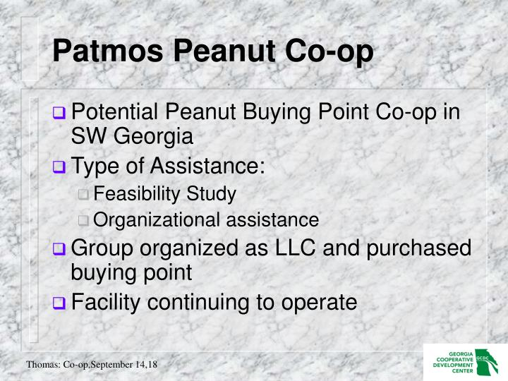 Patmos Peanut Co-op