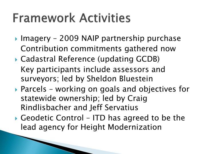 Framework Activities