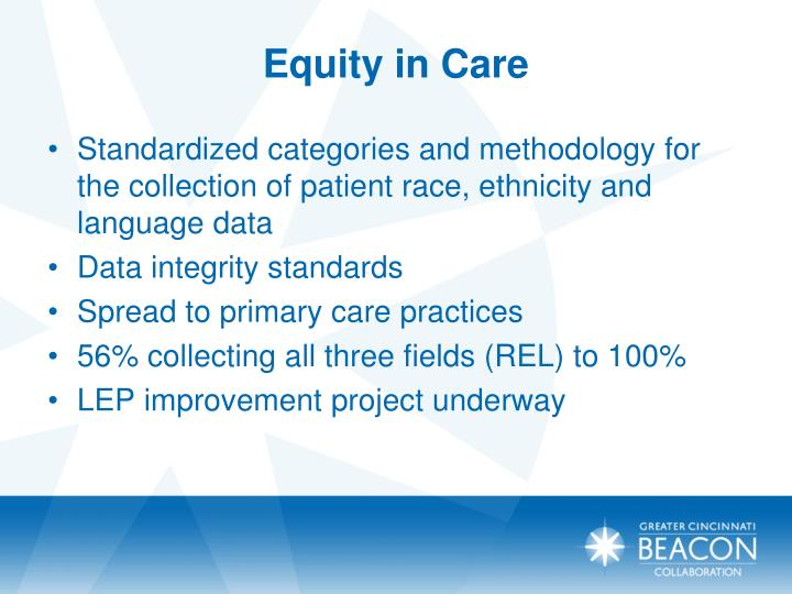 Equity in Care