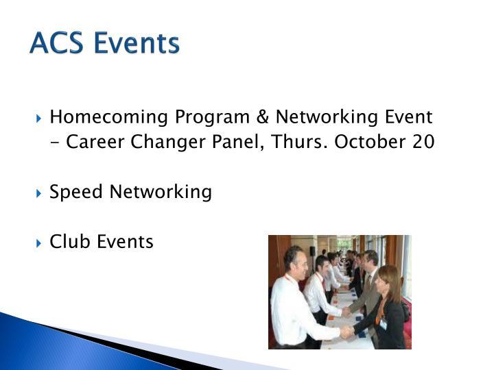 ACS Events
