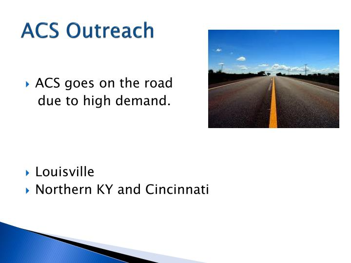 ACS Outreach