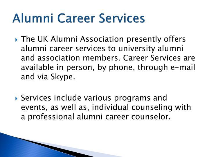 Alumni Career Services