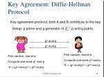 key agreement diffie hellman protocol