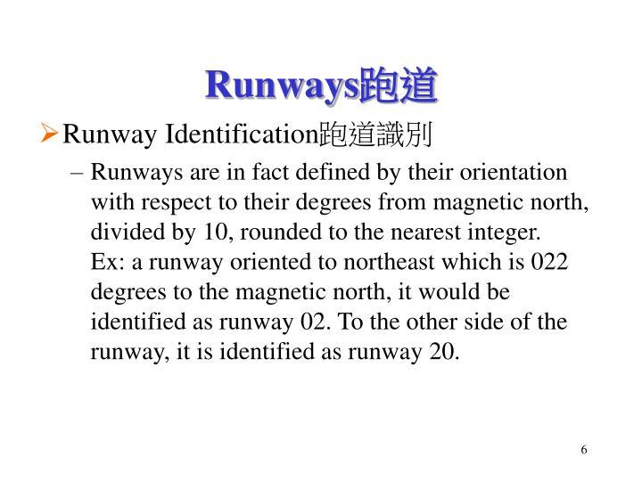 Runway Identification