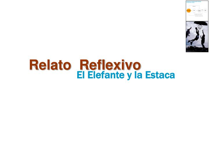 Relato  Reflexivo