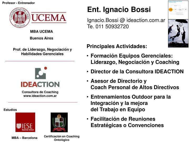Consultora de Coaching