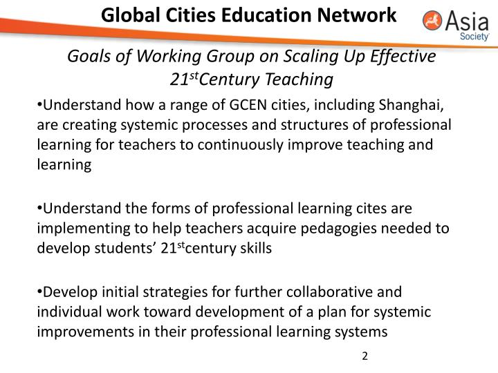 Global cities education network1