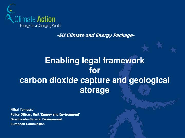 -EU Climate and Energy Package-
