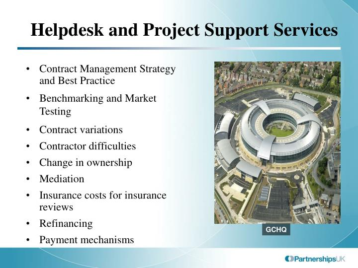 Helpdesk and Project Support Services