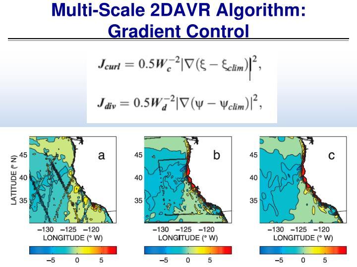 Multi-Scale 2DAVR Algorithm: