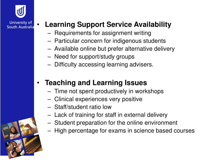 Learning Support Service Availability