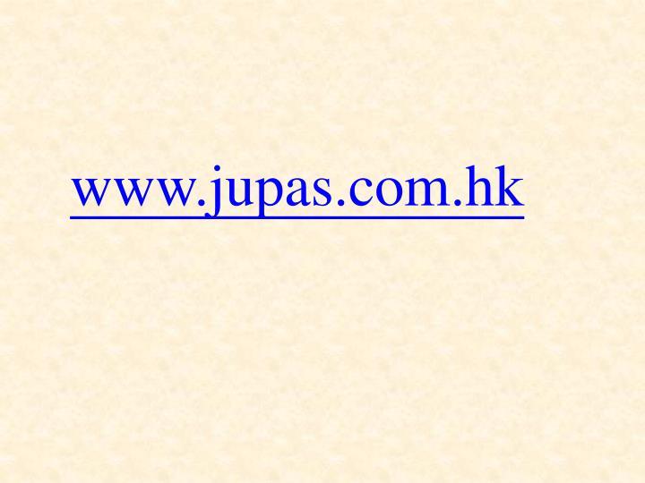 www.jupas.com.hk