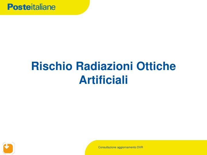 Rischio Radiazioni Ottiche