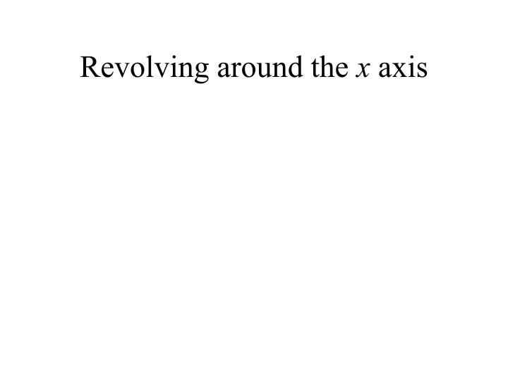 Revolving around the