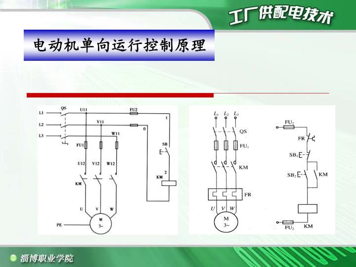 电动机单向运行控制原理