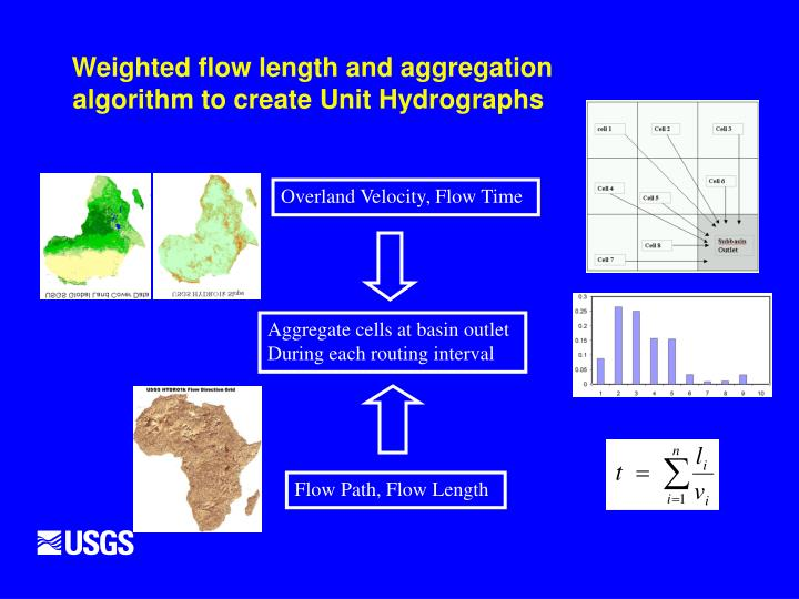 Weighted flow length and aggregation