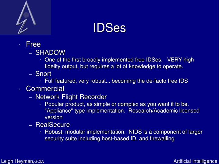 IDSes