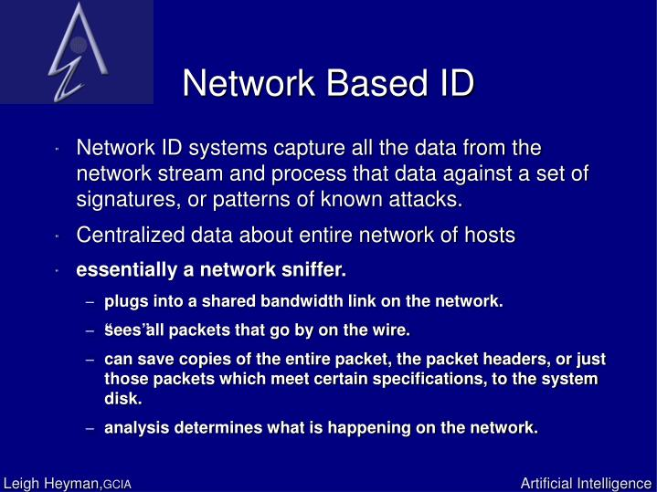 Network Based ID