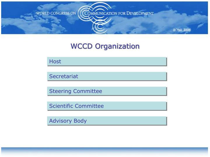 WCCD Organization