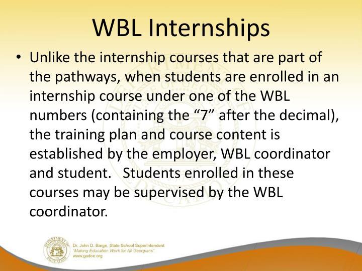 WBL Internships