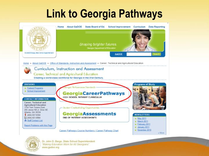 Link to Georgia Pathways
