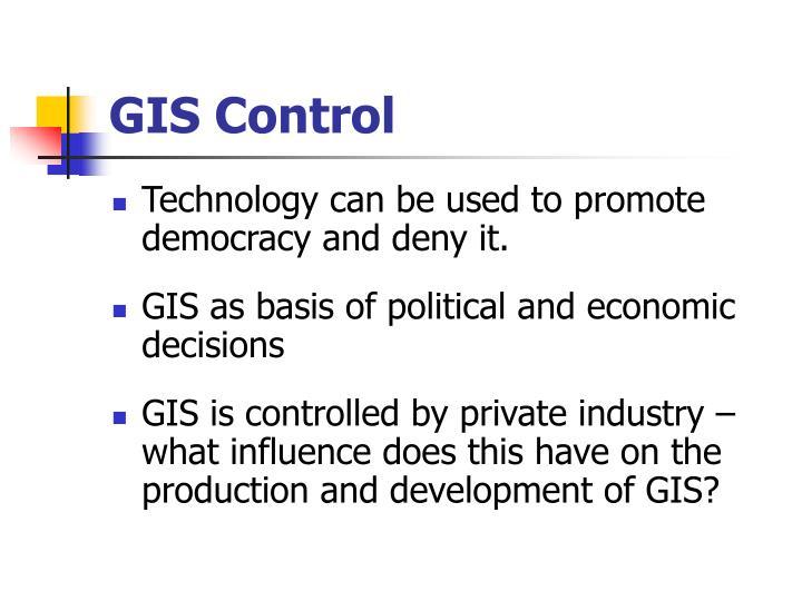 GIS Control