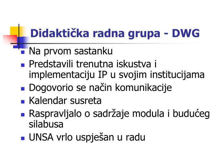 Didaktička radna grupa - DWG