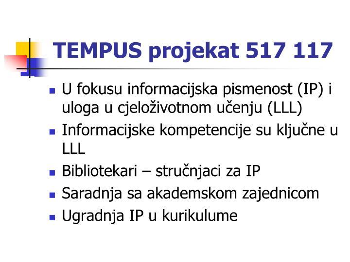 TEMPUS projekat 517 117
