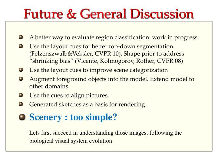Future & General Discussion