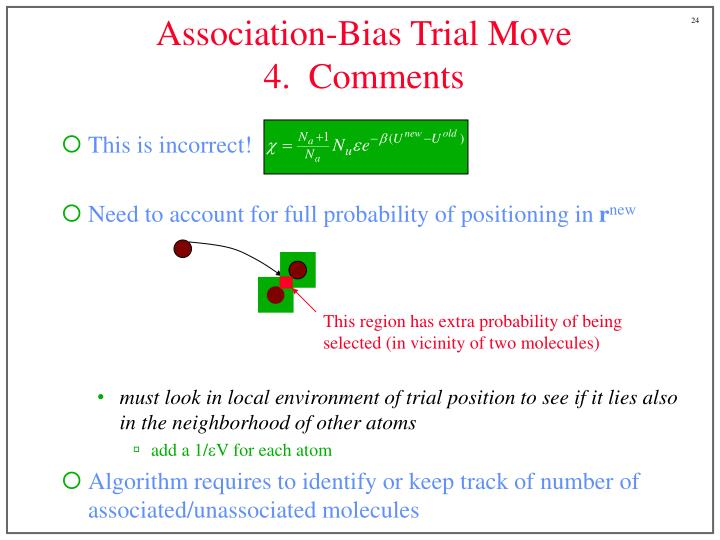 Association-Bias Trial Move