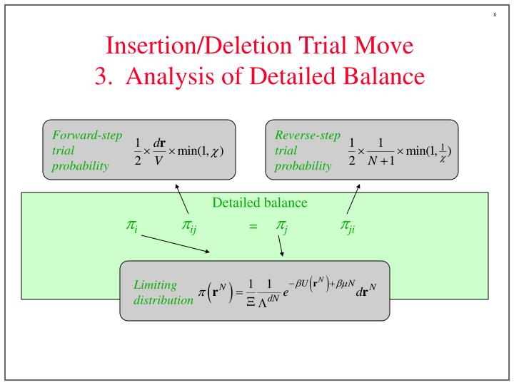 Forward-step trial probability