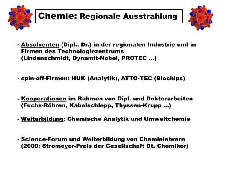 Chemie: