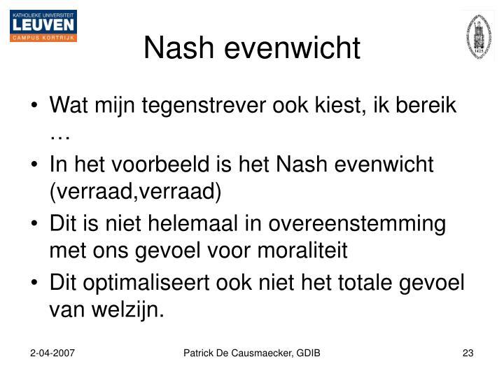 Nash evenwicht