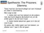 speltheorie the prisoners dilemma
